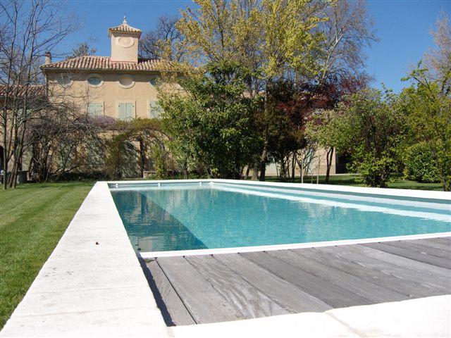 Nos r alisations reynaud piscines - Photo piscine liner gris ...